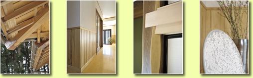 日本建築の仕事がしっかりとなされた仕様には飽くなき興味深さが宿ります。